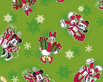 Mickey Mouse Vintage Fabric By The Yard