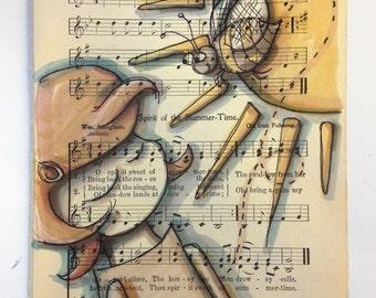 my heart's content - music sheet original