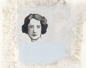 Pearl - An Original Painting on Paper by Elizabeth Bauman