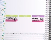 Cheerleading Sticker Printable - Instant Download - Planner Stickers