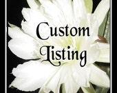 Custom Listing for mmmgelato Only