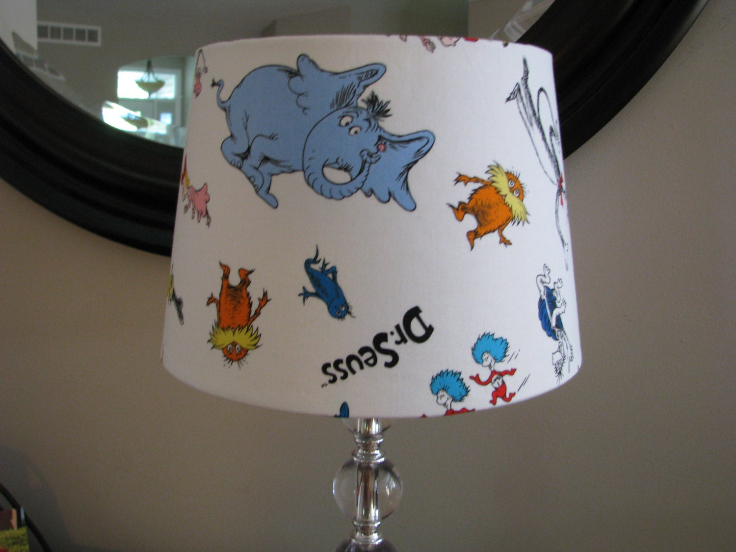 Lamp Shade Dr Seuss