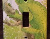 Lizard Light Switch Plate