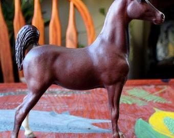 Breyer #62 Saddlebred Weanling RARE one sock variant possible chalky 1973-1980 antique toy pony SR for custom bait
