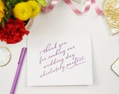 15 Personalized Thank You notes for Wedding Vendors or Family // Wedding Thank You Notes
