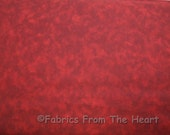 108 Wide Maroon Red Blender Quilt Backing Sewing Craft Cotton BY YARDS Fabric