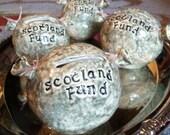 Scottish haggis bank