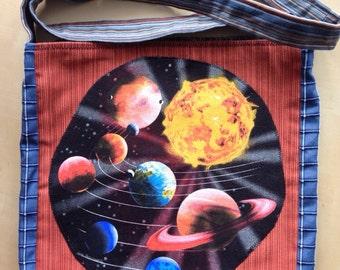Planets Tshirt bag