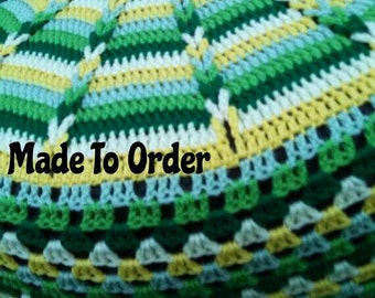 Braided Spokes Crochet Spare Tire Cover