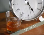 THIRTY SIX Personalized Engraved Glasses