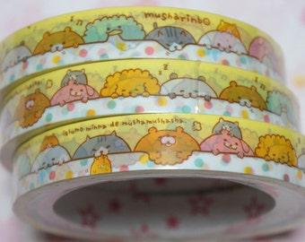 1 piece Japanese Decoration Tape Cute animal