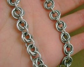"""Blackmaille """"Mobius Flower"""" Chainmaille Bracelet"""