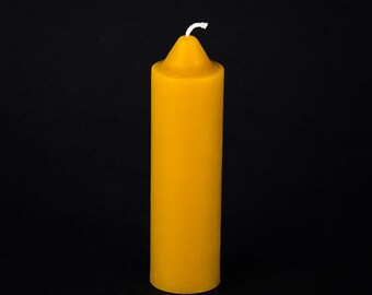 Pure Beeswax Candle - Emergency taper candle