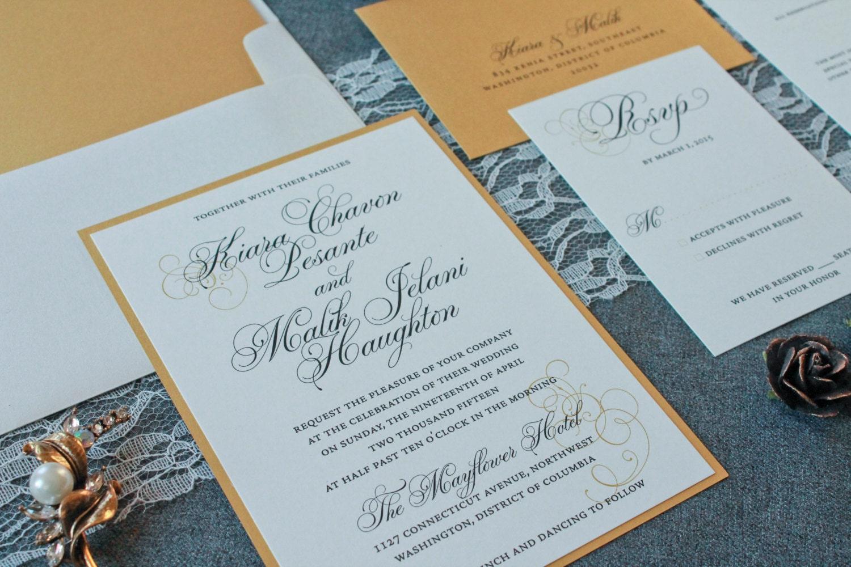 Wedding Invitation Formal: Traditional Wedding Invitations Formal Invitations Classic