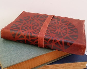 Leather Journal, Leather Sketchbook, Custom Leather Journal, Travel journal, Free Shipping, Personalized Journal, refillable, journals