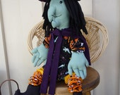 Yo Yo Witch Halloween monster decoration doll fabric yo yo toy