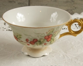 Beautiful Antique Hand Painted Tea Cup