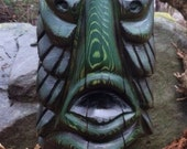 Creature From The Black Lagoon Tiki carving