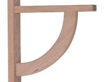 Wood Shelf Bracket- Cherry Convex 10