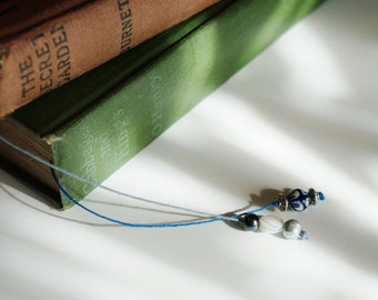 5 for 20 beaded book marks for book club, TEACHER GIFTS, favors, gift bags