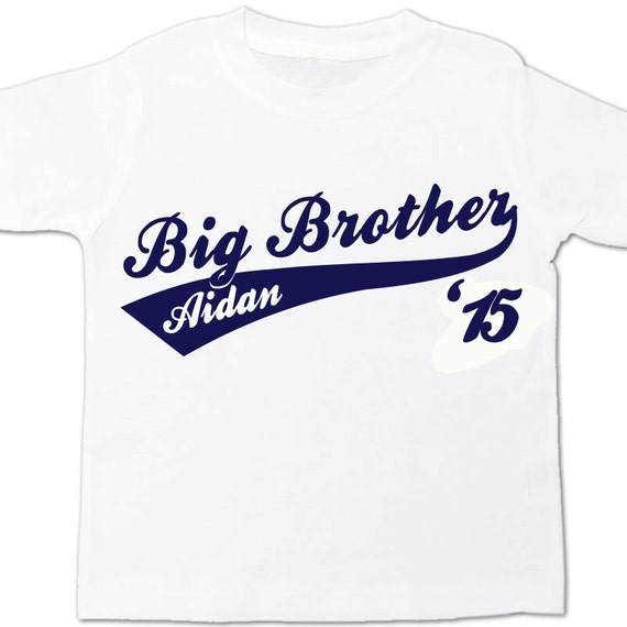 Big brother or big brother to be sporty swoosh '15 Tshirt