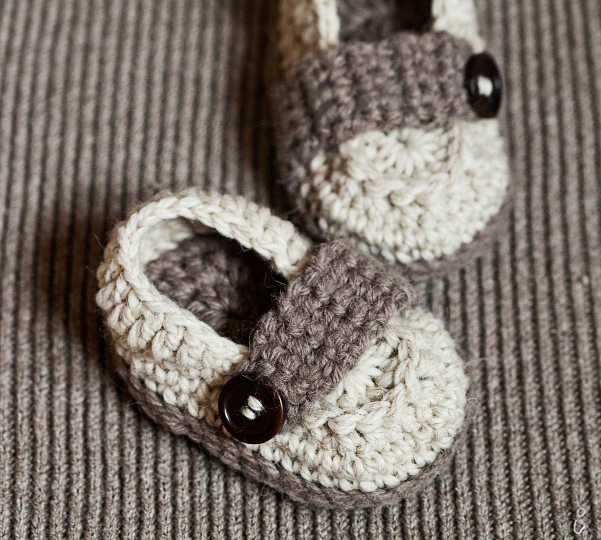 Crochet Pattern For Baby Lovey : Crochet PATTERN Baby Loafers