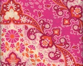 """Voile Cotton Joel Dewberry Kaleidoscope in Magenta from the Knotting Hill Collection 1 Yard 54"""" wide"""
