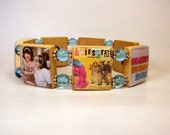 RESERVED for jenerrawilliams - HAIRSPRAY / Scrabble Bracelet / Handmade Jewelry / Movies / Musical Theater / Broadway