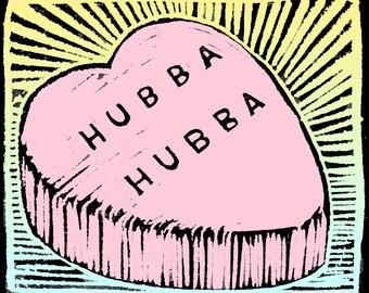 Hubba Hubba Greeting Card