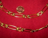 Gold Chain Belt Necklace Versatile Anne Klein Vintage Designer Costume Jewelry