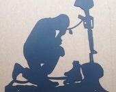Fallen Soldier Tribute Sign (P16)