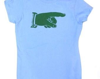 A Green Point t-shirt