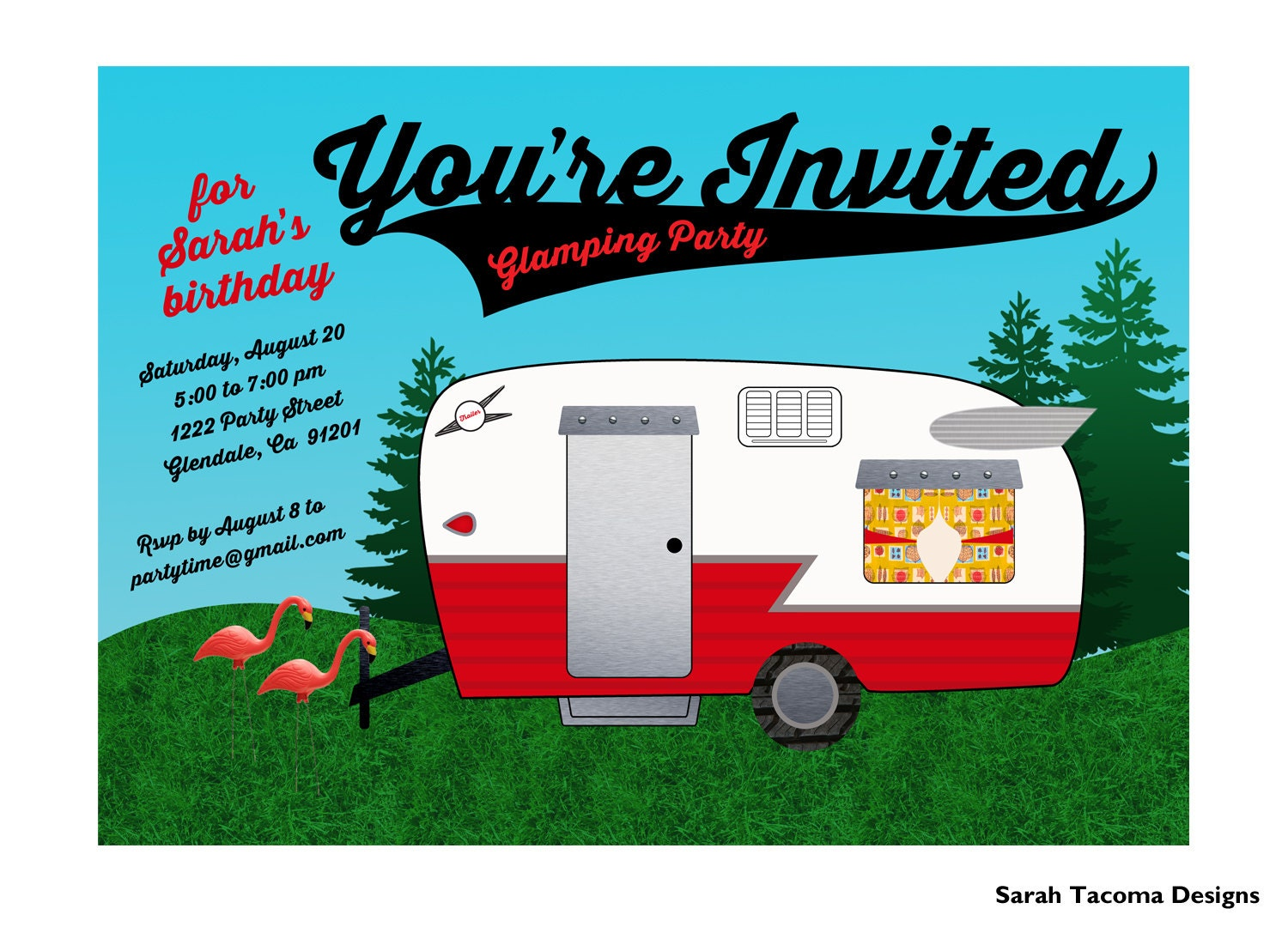 zoom - Customized Party Invitations