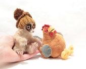 OOAK Miniature Slow Loris - by Malga