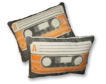 Mix Tape Pillow