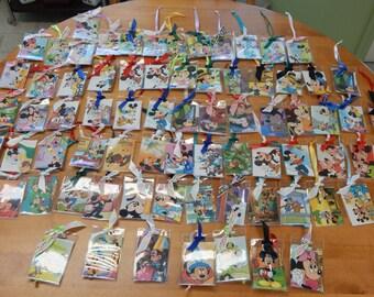 Grab Bag lot of 10 Luggage Bag ID Holder Disney Themed