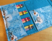 Coloring Wallet - Disney's Olaf, Crayons and Paper Included