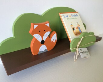 Tree Shelf, Woodland Nursery, Forest Themed Kids Decor, Book Shelf, Forest Themed Nursery,  Kids Decor, eco friendly