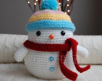 Snowman Amigurumi Pattern