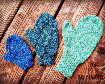 K.I.S. Mittens Pattern Download