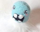 Small Plush Monster - Yeti FuzzyBum Furry Kawaii Stuffed Cute Plushie Toy