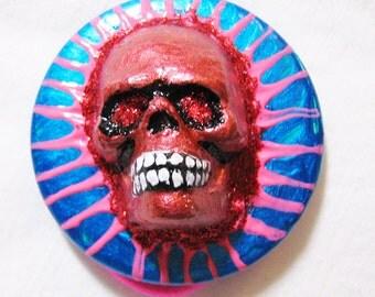 Day of the Dead bracelet, Noir, Dark, Halloween, skull geekery bracelet