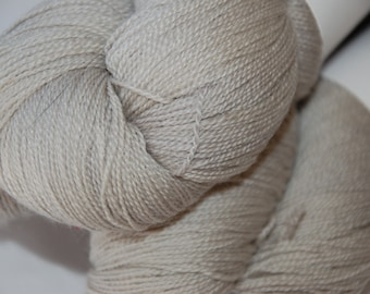 Studio June Yarn Merino Silk Lace - Silvery Gray