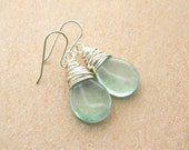 Jewelry Etsy. Green fluorite (natural) Earrings - Drop Beads, Soft, Lime, Mint, Green, Forest, Pear, Jewelry Earrings, Drop Earrings, Dangle