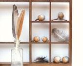 Needle Felted Grey Acorns - Natural Rustic Eco-friendly Woodland Home Decor - 6