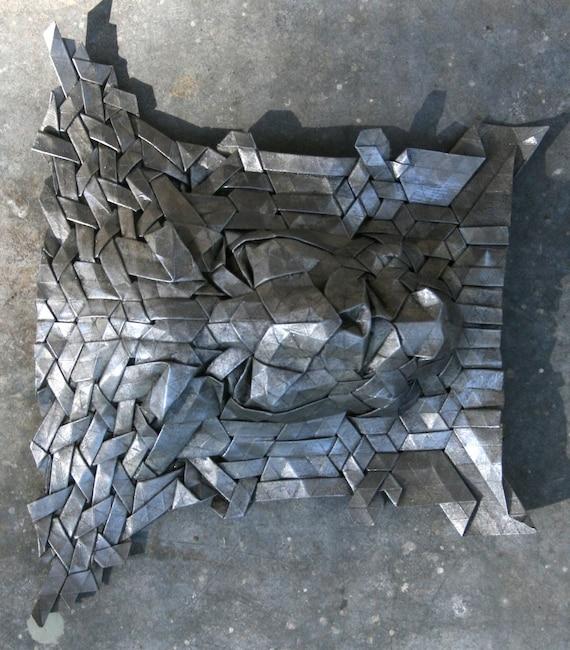 Фавн - Лесной дух оригами скульптура