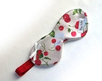 Choice Cherry Print Sleep Mask