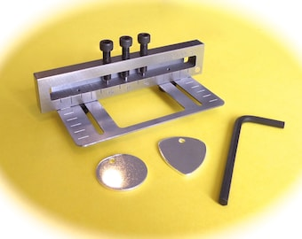 """Hole Punch for metal Eurotool Deluxe steel 3 Sizes 1/16"""" (1.58mm), 3/32"""" (2.38mm) and 1/8"""" (3.17mm)."""