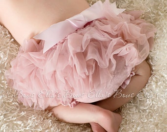 Full ruffle Bloomers 5 colors to choose from newborn bloomers..BLOOMERS ONLY..infant diaper cover..chiffon ruffle Bloomers... Diaper Cover