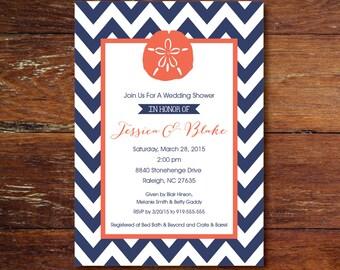 Bridal shower, luncheon or brunch invitation (custom), printable file